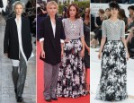 Clemence Poesy In Michael Kors & Anne Berest In Chanel Couture - Deauville American Film Festival Opening Ceremony