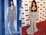 Kim Kardashian In Ralph & Russo Couture & Atsuko Kudo -  2014 GQ Men of the Year Awards