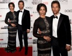 Camila Alves and Matthew McConaughey In Dolce & Gabbana - 28th American Cinematheque Award Event