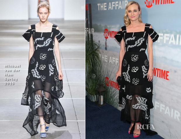 Diane Kruger In Michael van der Ham - 'The Affair' New York Series Premiere