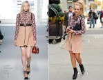 Juno Temple In Louis Vuitton - Out In New York