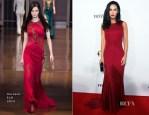 Megan Fox In Versace - Ferrari's 60th Anniversary In The USA Gala