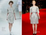 Mia Wasikowska In Chanel Couture - 'Madame Bovary' London Film Festival Screening
