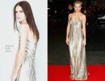 Sienna Miller In Galvan - 'Foxcatcher' London Premiere