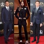 2014 Hollywood Film Awards Menswear Red Carpet Roundup