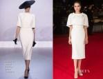 Angelina Jolie In Ralph & Russo Couture - 'Unbroken' London Premiere