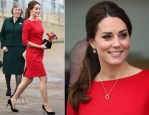 Catherine, Duchess of Cambridge In Katherine Hooker - EACH (East Anglia Children's Hospice) Appeal Launch Event