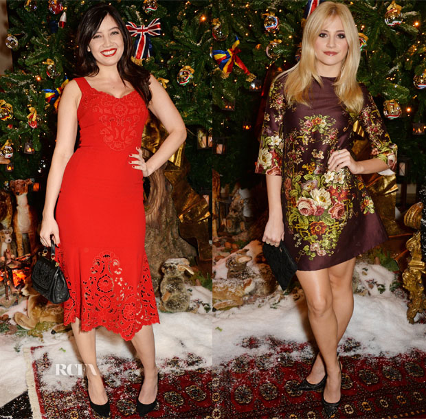 Claridge's & Dolce And Gabbana Christmas Tree Party 2
