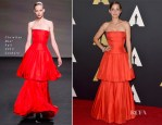 Marion Cotillard In Christian Dior Couture - Academy Of Motion Picture Arts And Sciences' Governors Awards