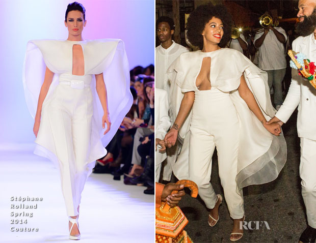 Solange Knowles Stéphane Rolland Spring 2014 Couture2