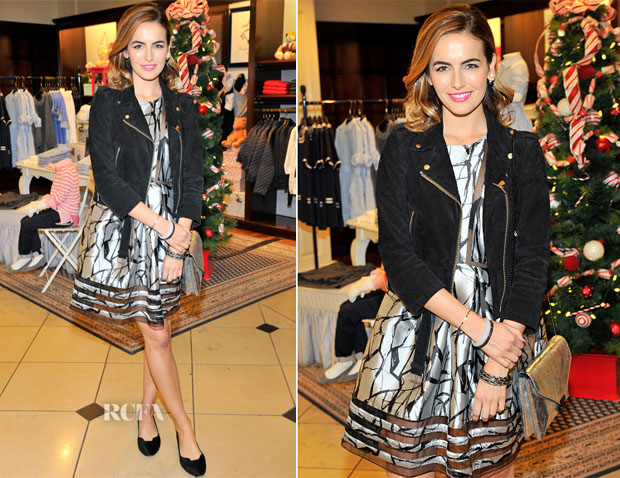 Camilla Belle In Sachin & Babi - Brooks Brothers Celebrates The Holidays With St Jude Children's Research Hospital