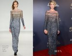 Jenna Elfman In Pamella Roland - The Music Center's 50th Anniversary Spectacular