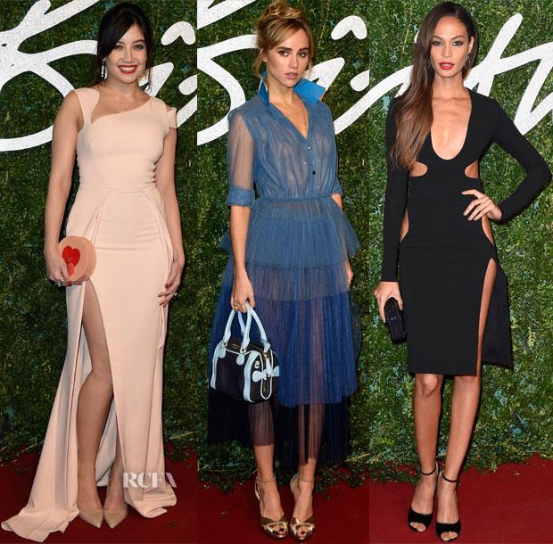 Models @ The 2014 2014 British Fashion Awards