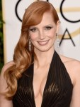 Get The Look: Jessica Chastain's Ultra Glamorous Golden Globe Awards Waves