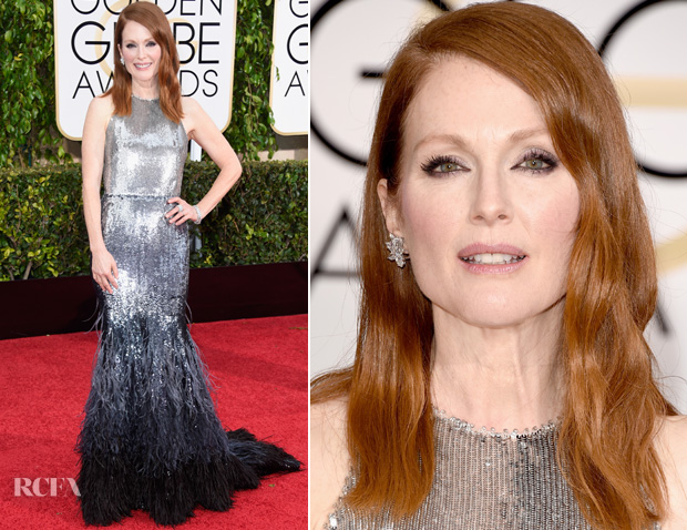 Julianne Moore In Givenchy – 2015 Golden Globes