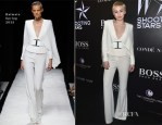 Miley Cyrus In Balmain - Magazine Shooting Stars Exhibit Opening