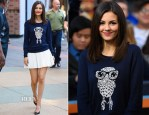 Victoria Justice In French Connection - 'Extra'