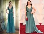 America Ferrera In Jenny Packham - 2015 Oscars