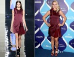 Busy Philipps In Christopher Kane -  2nd Annual Unite4:humanity Event
