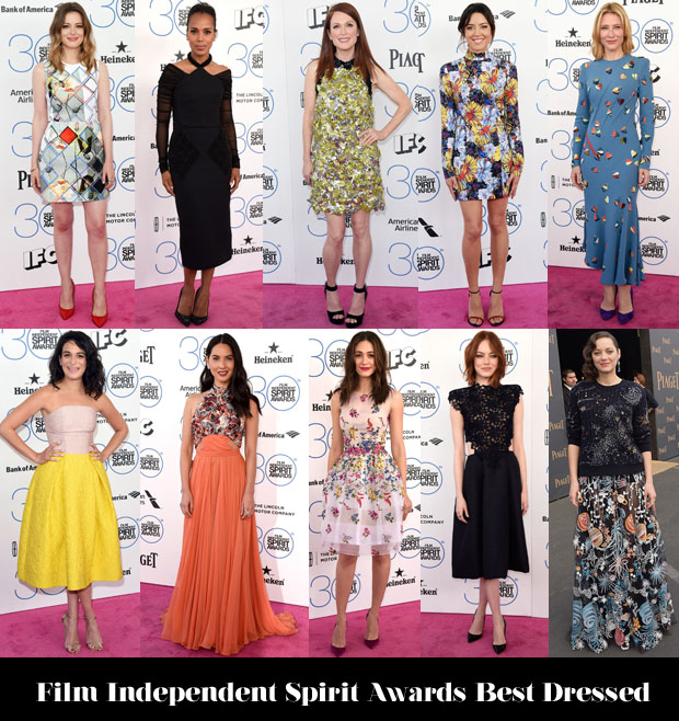 Film Independent Spirit Awards best dressed