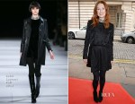 Julianne Moore In Saint Laurent - 'Still Alice' London Screening