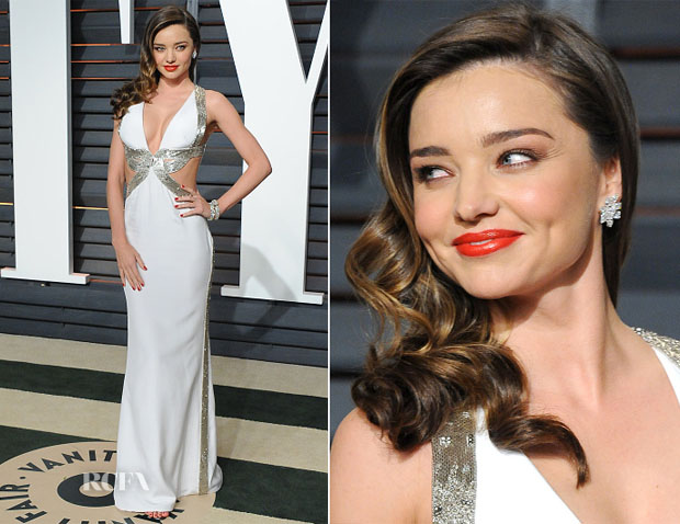 Miranda Kerr In Emilio Pucci - 2015 Vanity Fair Party