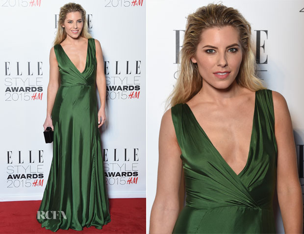 Mollie King In Ralph Lauren - 2015 Elle Style Awards