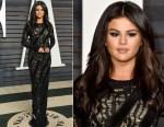 Selena Gomez In Louis Vuitton - 2015 Vanity Fair Oscar Party