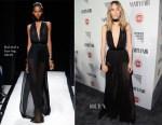 Suki Waterhouse In Balmain - Vanity Fair Celebrates Young Hollywood