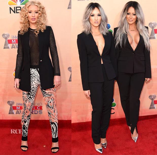 2015 iHeartRadio Music Awards Red Carpet Roundup