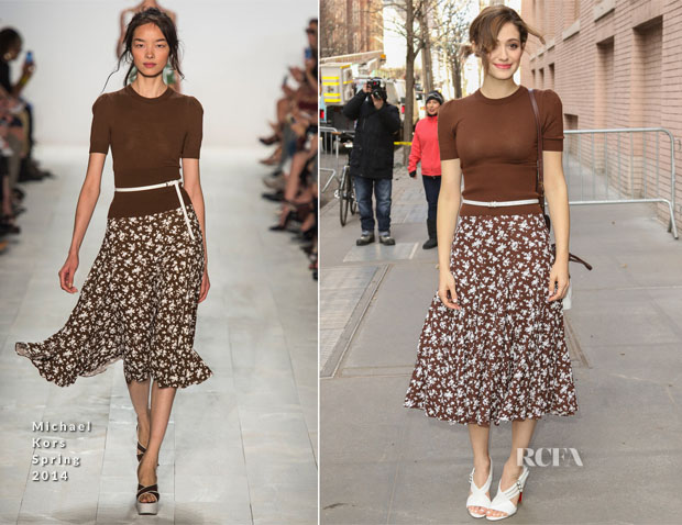 Emmy Rossum In Michael Kors - The View