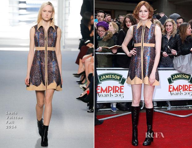 Karen Gillan In Louis Vuitton - 2015 Jameson Empire Awards
