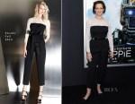 Sigourney Weaver In Escada - 'Chappie' New York Premiere