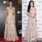 Who Wore Valentino Better...Shailene Woodley or Fan Bingbing?