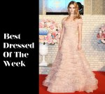 Best Dressed Of The Week - Lily James In Elie Saab Couture