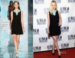 Dakota Fanning In Versace - 'Every Secret Thing' New York Film Critic Series Premiere