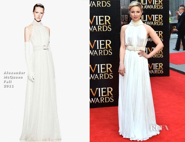 Dianna Agron In Alexander McQueen – 2015 Olivier Awards 2 copy