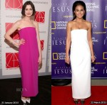 Who Wore Solace London Better...Anne Hathaway or Emmanuelle Chriqui?