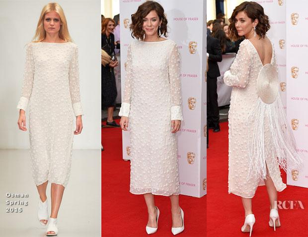 Anna Friel In Osman - 2015 BAFTA TV Awards