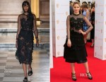 Dianna Agron In Simone Rocha & Comme des Garçons - 2015 BAFTA TV Awards