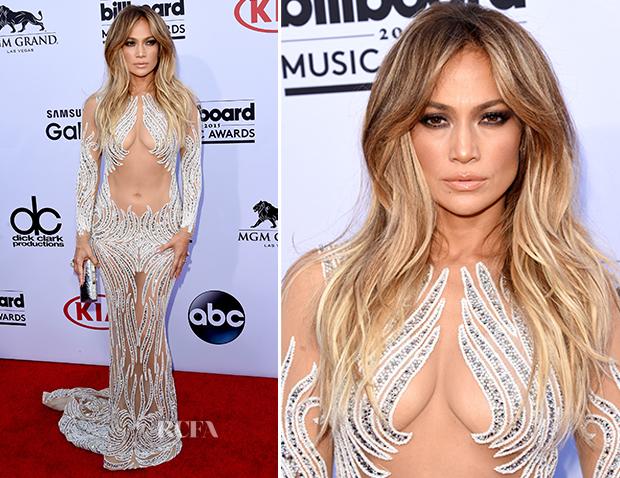 Jennifer Lopez In Charbel Zoe - 2015 Billboard Music Awards_2