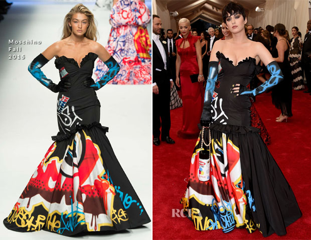 Katy Perry In Moschino - 2015 Met Gala