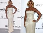 Mary J Blige In Versace - 2015 amfAR Cinema Against AIDS Gala