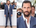 Matthew McConaughey In Dolce & Gabbana - 'The Sea Of Trees' Cannes Film Festival Photocall