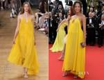 Noémie Lenoir In Chloé - 'La Tete Haute' Cannes Film Festival Premiere & Opening Ceremony