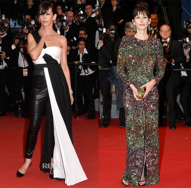 Sophie Marceau In Vionnet, Saint Laurent,  - Cannes Film Festival Red Carpet Roundup