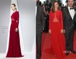 Virginie Ledoyen In Georges Hobeika - 'Inside Out' Cannes Film Festival Premiere