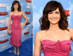 Carla Gugino In Zac Posen - 'The Brink' LA Premiere