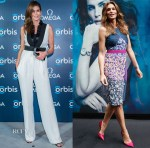 Cindy Crawford In Emanuel Ungaro & Peter Pilotto - Omega Events