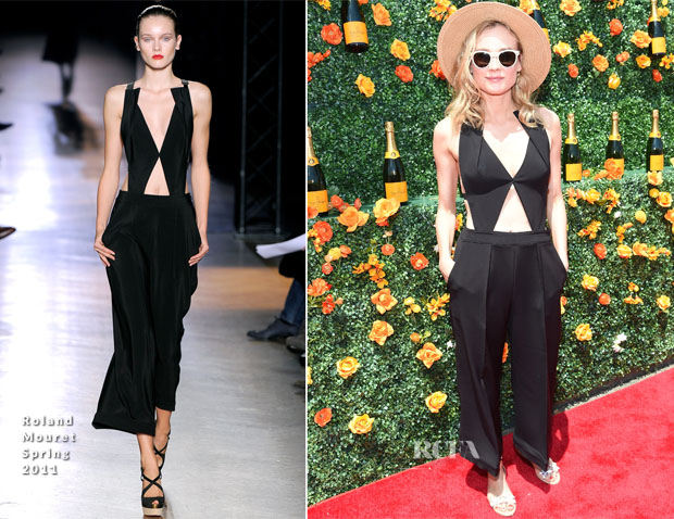 Diane Kruger In Roland Mouret - 8th Annual Veuve Clicquot Polo Classic